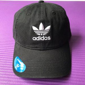 Adidas Originals Trefoil StrapBack Cotton Blk Cap